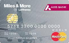 AXIS Bank Miles & More World Credit Card