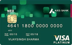 Axis Bank Neo Credit Card