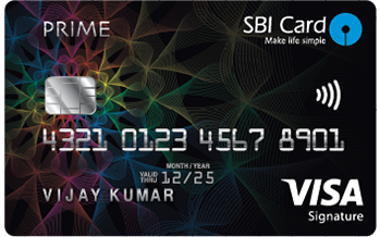SBI Credit Card Prime