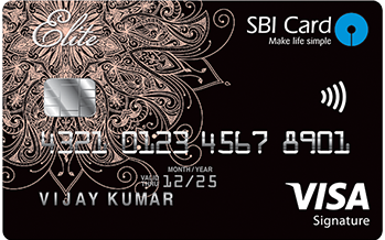 SBI Card ELITE Advantage