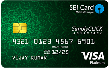 SimplyCLICK SBI Credit Card