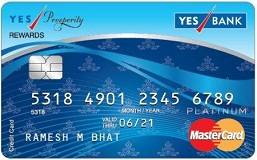 Yes Prosperity Rewards Credit Card