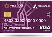 Axis Bank Vistara Credit Card